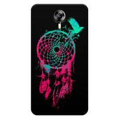 Good luck Pigeon sketch design    Micromax Canvas Xpress 2 hard plastic printed back cover