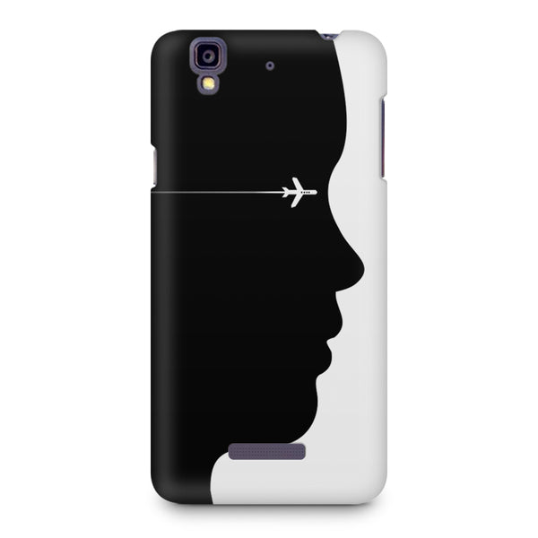 A vision to fly Micromax Yureka printed back cover