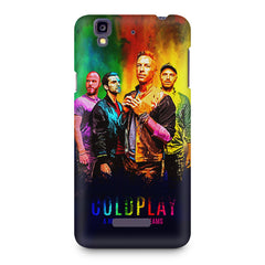 Coldplay Colorful Album Art A Head Full of Dreams design,  Micromax Yureka printed back cover