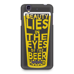 Beer Lovers Perfect Case Design design,  Micromax Yureka printed back cover