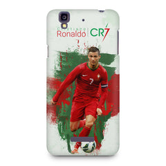 Cristiano Ronaldo CR7 Portugal design Micromax Yureka printed back cover
