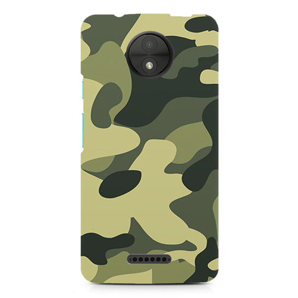 Army Design design, Moto C Plus printed back cover