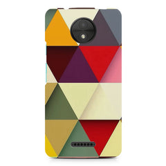 Pattern  design, Moto C Plus printed back cover
