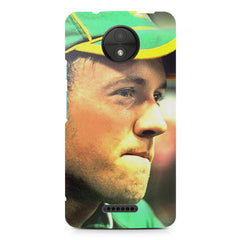 AB de Villiers South Africa  Moto C  printed back cover