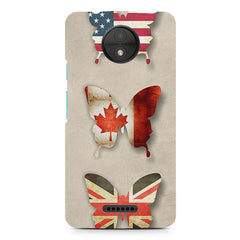 U.S,U.K.Canada Moto C Plus printed back cover
