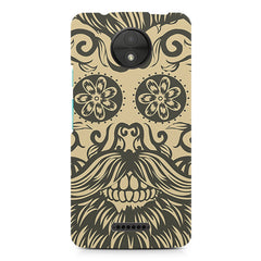 Bearded man  design, Moto C Plus printed back cover