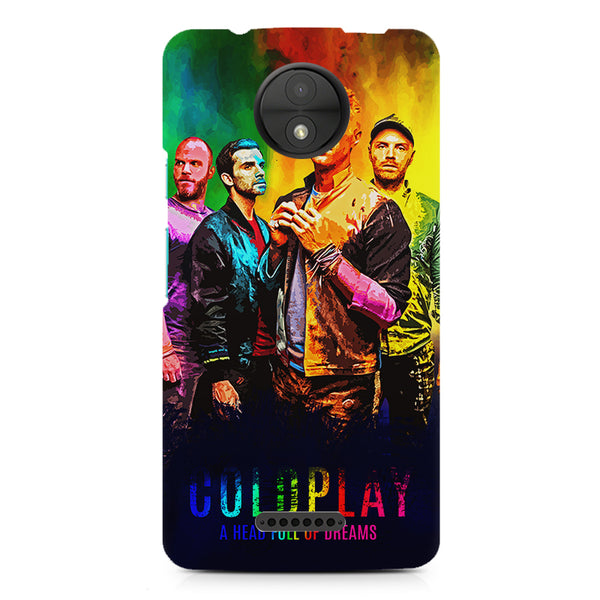 Coldplay Colorful Album Art A Head Full of Dreams design,  Moto C  printed back cover