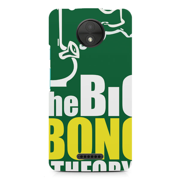 The Big Bong Theory Funny Pot Lovers Case design, Moto C printed back cover