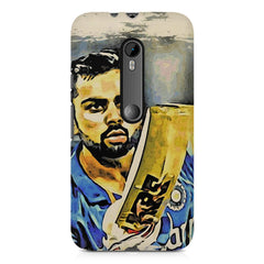 Virat Kohli  design,  Moto G3 printed back cover