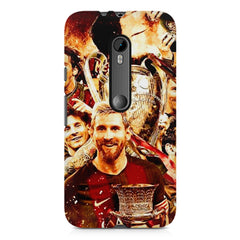 Messi  design,  Moto G3 printed back cover