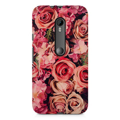 Roses  design,  Moto G3 printed back cover