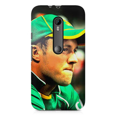 AB de Villiers South Africa  Moto G3 printed back cover
