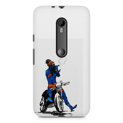 Puff pass  Moto G3 printed back cover