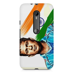 Sachin Tendulkar blue  Moto G3 printed back cover
