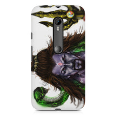 Shiva With Trishul  Moto G3 printed back cover