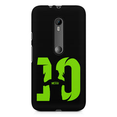 Lionel Messi 10 Victory  design,  Moto G3 printed back cover