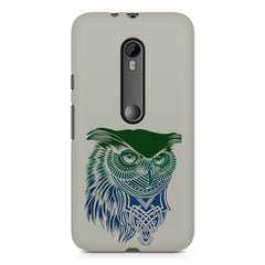 Owl Sketch design,  Moto G3 printed back cover