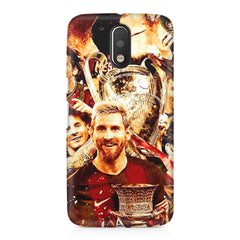Messi  design,  Moto G4/G4 Plus printed back cover