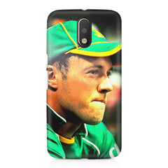 AB de Villiers South Africa  Moto G4/G4 Plus printed back cover