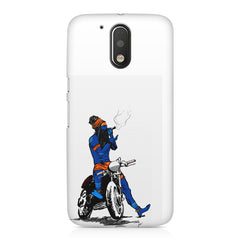 Puff pass  Moto G4/G4 Plus printed back cover