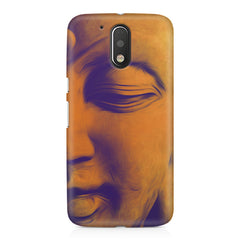 Peaceful Serene Lord Buddha Moto G4/G4 Plus printed back cover