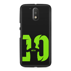 Lionel Messi 10 Victory  design,  Moto G4/G4 Plus printed back cover