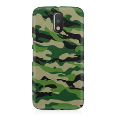 Military design design Moto G4 Play printed back cover