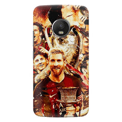 Messi  design,  Moto G5s Plus  printed back cover