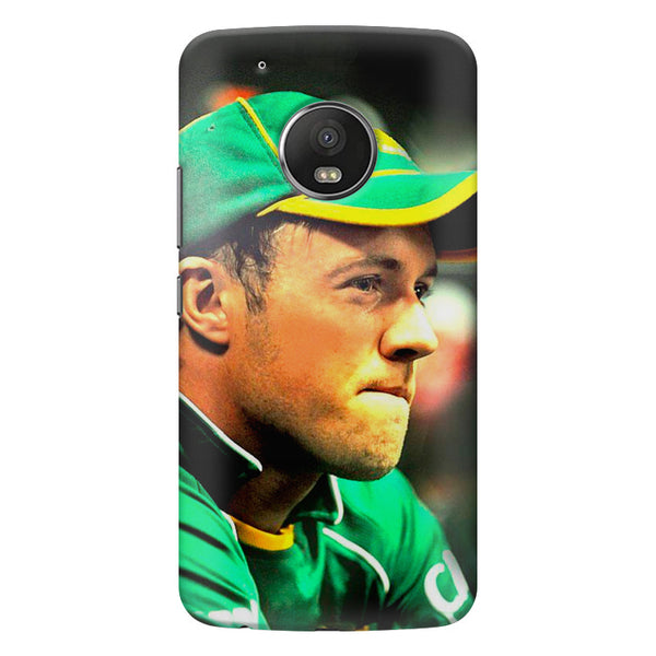 AB de Villiers South Africa  Moto G5  printed back cover