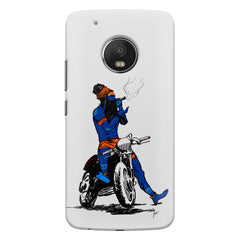 Puff pass  Moto G5s Plus  printed back cover