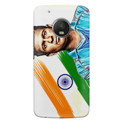 Sachin Tendulkar blue  Moto G5s Plus  printed back cover