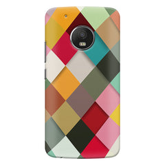 Graphic Design diamonds   Moto G5s Plus  printed back cover