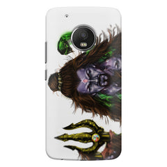 Shiva With Trishul  Moto G5s Plus  printed back cover