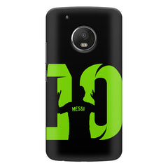 Lionel Messi 10 Victory  design,  Moto G5s Plus  printed back cover