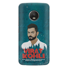 Virat Kohli Indian Cricket Team Captain Quote design,   Moto G5S Plus hard plastic all side printed back cover.