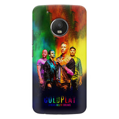 Coldplay Colorful Album Art A Head Full of Dreams design,   Moto G5S Plus hard plastic all side printed back cover.