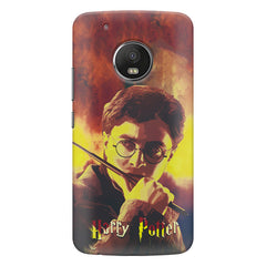Harry Potter Gryffindor Abstract Art design,   Moto G5S Plus hard plastic all side printed back cover.