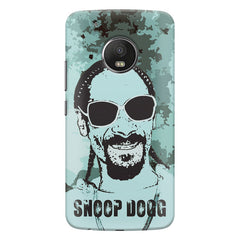 Snoop Dogg Popart design,   Moto G5S Plus hard plastic all side printed back cover.