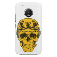 Explorer Skull Concept Art design,   Moto G5S Plus hard plastic all side printed back cover.