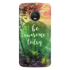 Motivational quotes design  Moto G5S Plus hard plastic all side printed back cover.