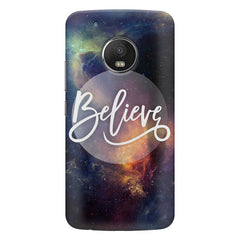 Believe in yourself  Moto G5S Plus hard plastic all side printed back cover.