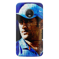 M.S. Dhoni design  Moto G5S Plus hard plastic all side printed back cover.