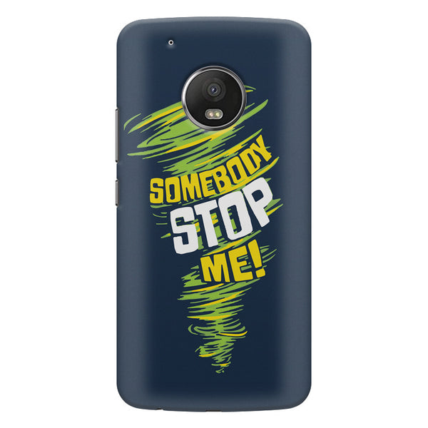Be Unstoppable design Moto G5  printed back cover