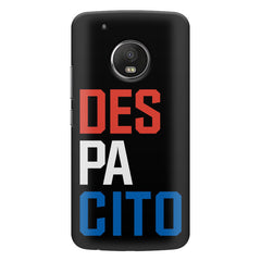 DES PA CITO design    Moto E4 plus hard plastic printed back cover
