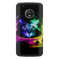 Astro Cat design    Moto E4 plus hard plastic printed back cover