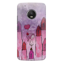 Lost in the world of Lipsticks Design Moto G6 Plus hard plastic printed back cover