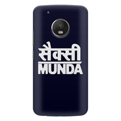 Sexy Munda quote design    Moto G6 hard plastic printed back cover