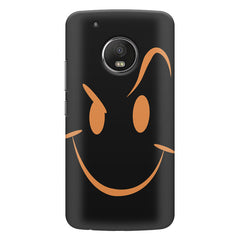 Smile like The Rock design    Moto E4 plus hard plastic printed back cover