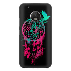Good luck Pigeon sketch design    Moto E4 plus hard plastic printed back cover