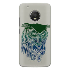 Owl Sketch design,  Moto G5s Plus  printed back cover